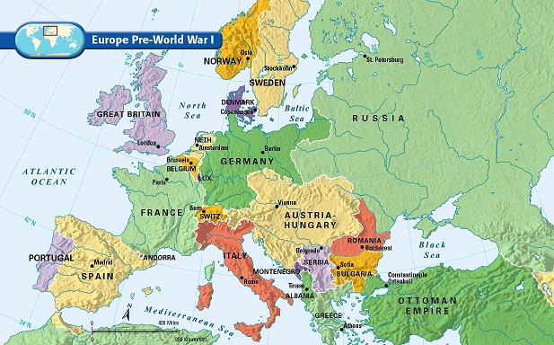 map of europe before ww2 WWI Transformed the Map of Europe – Could It Change Again?